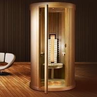 infrarotkabine mit salz. Black Bedroom Furniture Sets. Home Design Ideas